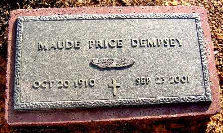 PRICE DEMPSEY, MAUDE - Logan County, Arkansas | MAUDE PRICE DEMPSEY - Arkansas Gravestone Photos