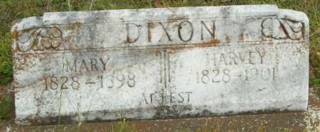 DIXON, HARVEY - Logan County, Arkansas | HARVEY DIXON - Arkansas Gravestone Photos