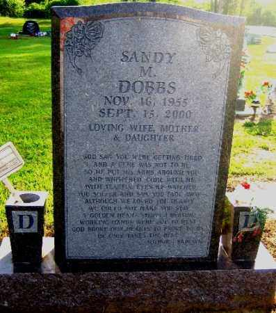 DOBBS, SANDY M. - Logan County, Arkansas | SANDY M. DOBBS - Arkansas Gravestone Photos