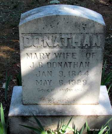 DUNN DONATHAN, MARY - Logan County, Arkansas | MARY DUNN DONATHAN - Arkansas Gravestone Photos