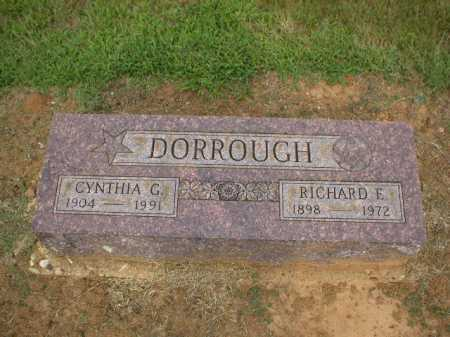 DORROUGH, RICHARD E. - Logan County, Arkansas | RICHARD E. DORROUGH - Arkansas Gravestone Photos