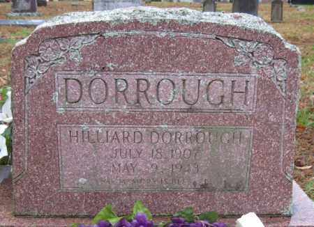 DORROUGH, HILLIARD - Logan County, Arkansas | HILLIARD DORROUGH - Arkansas Gravestone Photos