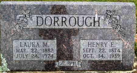DORROUGH, LAURA M - Logan County, Arkansas | LAURA M DORROUGH - Arkansas Gravestone Photos