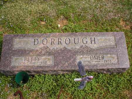 DORROUGH, BETTY - Logan County, Arkansas | BETTY DORROUGH - Arkansas Gravestone Photos