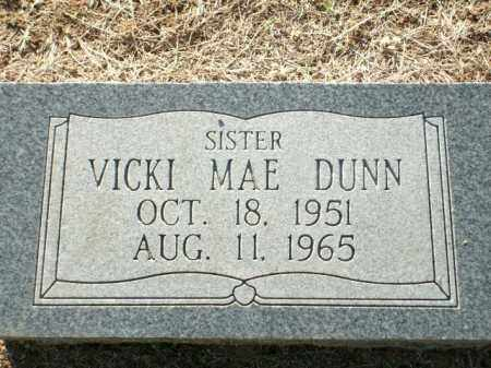 DUNN, VICKI MAE - Logan County, Arkansas | VICKI MAE DUNN - Arkansas Gravestone Photos