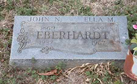 EBERHARDT, ELLA M - Logan County, Arkansas | ELLA M EBERHARDT - Arkansas Gravestone Photos