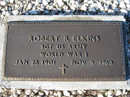 ELKINS (VETERAN WWI), ROBERT R - Logan County, Arkansas | ROBERT R ELKINS (VETERAN WWI) - Arkansas Gravestone Photos