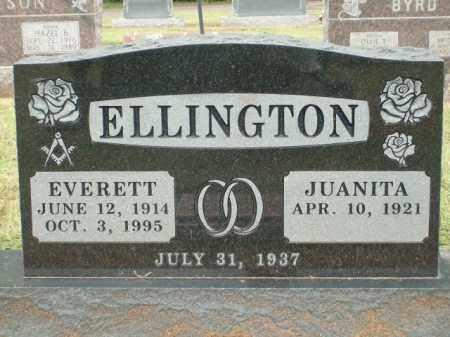 ELLINGTON, EVERETT - Logan County, Arkansas | EVERETT ELLINGTON - Arkansas Gravestone Photos