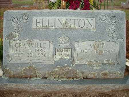 ELLINGTON, GRANVILLE - Logan County, Arkansas | GRANVILLE ELLINGTON - Arkansas Gravestone Photos