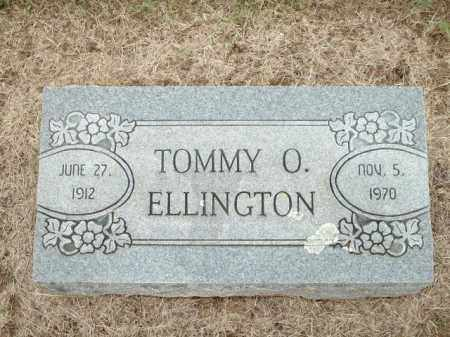ELLINGTON, TOMMY O. - Logan County, Arkansas | TOMMY O. ELLINGTON - Arkansas Gravestone Photos