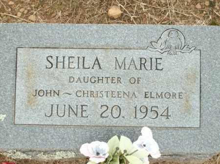 ELMORE, SHEILA MARIE - Logan County, Arkansas | SHEILA MARIE ELMORE - Arkansas Gravestone Photos