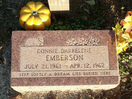 EMBERSON, CONNIE DARRELENE - Logan County, Arkansas | CONNIE DARRELENE EMBERSON - Arkansas Gravestone Photos