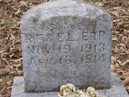 ERP, INFANT SON - Logan County, Arkansas | INFANT SON ERP - Arkansas Gravestone Photos