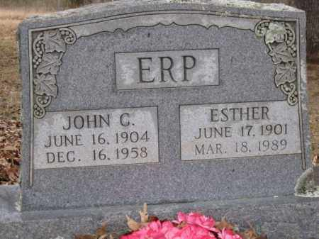 ERP, ESTHER - Logan County, Arkansas | ESTHER ERP - Arkansas Gravestone Photos