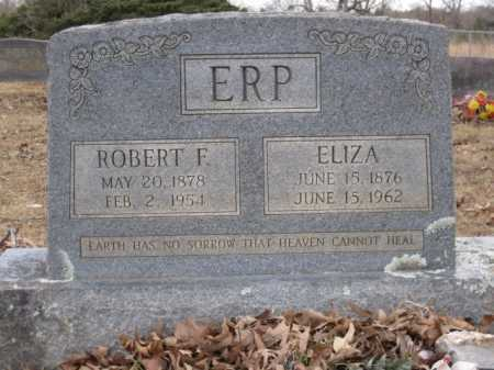 ERP, ROBERT F - Logan County, Arkansas | ROBERT F ERP - Arkansas Gravestone Photos