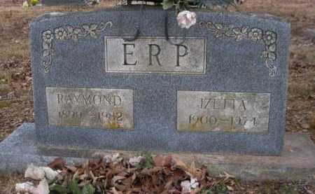 ERP, IZETTA - Logan County, Arkansas | IZETTA ERP - Arkansas Gravestone Photos