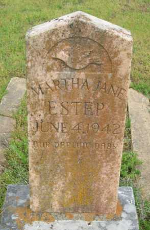 ESTEP, MARTHA JANE - Logan County, Arkansas | MARTHA JANE ESTEP - Arkansas Gravestone Photos