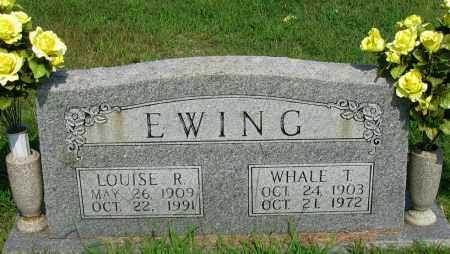EWING, WHALE T - Logan County, Arkansas | WHALE T EWING - Arkansas Gravestone Photos