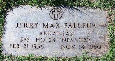 FALLEUR (VETERAN), JERRY MAX - Logan County, Arkansas | JERRY MAX FALLEUR (VETERAN) - Arkansas Gravestone Photos