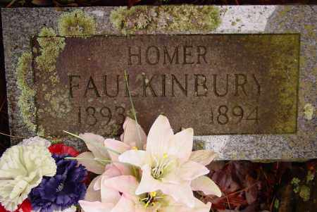 FAULKINBURY, HOMER - Logan County, Arkansas | HOMER FAULKINBURY - Arkansas Gravestone Photos