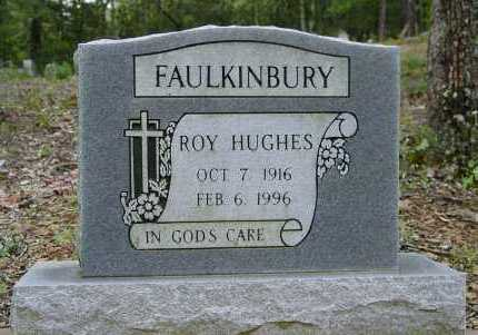 FAULKINBURY, ROY HUGHES - Logan County, Arkansas | ROY HUGHES FAULKINBURY - Arkansas Gravestone Photos