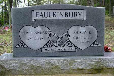 FAULKINBURY, SHIRLEY  E - Logan County, Arkansas | SHIRLEY  E FAULKINBURY - Arkansas Gravestone Photos