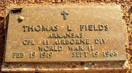 FIELDS (VETERAN WWII), THOMAS L - Logan County, Arkansas | THOMAS L FIELDS (VETERAN WWII) - Arkansas Gravestone Photos
