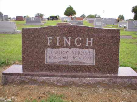 FINCH, CHARLES W. - Logan County, Arkansas | CHARLES W. FINCH - Arkansas Gravestone Photos