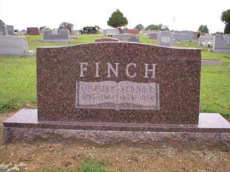 FINCH, VERNA I - Logan County, Arkansas | VERNA I FINCH - Arkansas Gravestone Photos