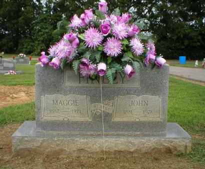 FINLEY, MAGGIE - Logan County, Arkansas | MAGGIE FINLEY - Arkansas Gravestone Photos