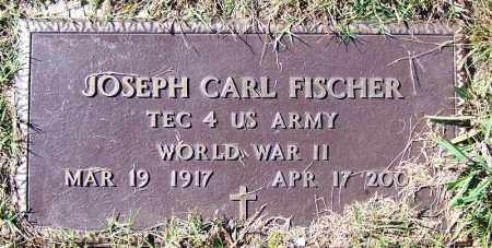 FISCHER (VETERAN WWII), JOSEPH CARL - Logan County, Arkansas | JOSEPH CARL FISCHER (VETERAN WWII) - Arkansas Gravestone Photos