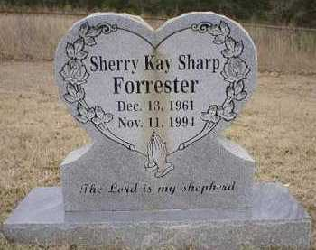 SHARP FORRESTER, SHERRY KAY - Logan County, Arkansas | SHERRY KAY SHARP FORRESTER - Arkansas Gravestone Photos
