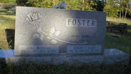 MCLEMORE FOSTER, LENA - Logan County, Arkansas | LENA MCLEMORE FOSTER - Arkansas Gravestone Photos