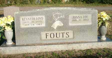 FOUTS, KENNETH LOYD - Logan County, Arkansas | KENNETH LOYD FOUTS - Arkansas Gravestone Photos