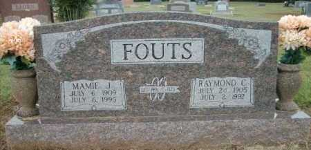 FOUTS, MAMIE J. - Logan County, Arkansas | MAMIE J. FOUTS - Arkansas Gravestone Photos