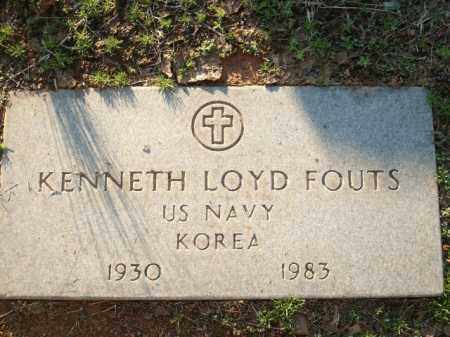 FOUTS (VETERAN KOR), KENNETH LOYD - Logan County, Arkansas | KENNETH LOYD FOUTS (VETERAN KOR) - Arkansas Gravestone Photos