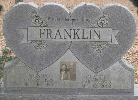 FRANKLIN, WONDA - Logan County, Arkansas | WONDA FRANKLIN - Arkansas Gravestone Photos