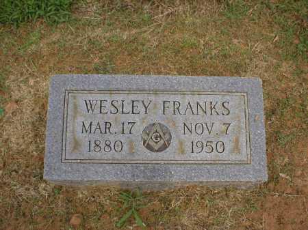 FRANKS, WESLEY - Logan County, Arkansas | WESLEY FRANKS - Arkansas Gravestone Photos
