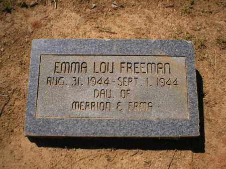 FREEMAN, EMMA LOU - Logan County, Arkansas | EMMA LOU FREEMAN - Arkansas Gravestone Photos