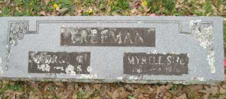 FREEMAN, MYRTLE SUE - Logan County, Arkansas | MYRTLE SUE FREEMAN - Arkansas Gravestone Photos