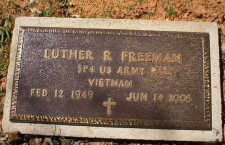 FREEMAN (VETERAN VIET), LUTHER R. - Logan County, Arkansas | LUTHER R. FREEMAN (VETERAN VIET) - Arkansas Gravestone Photos