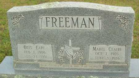 FREEMAN, MABEL CLAIRE - Logan County, Arkansas | MABEL CLAIRE FREEMAN - Arkansas Gravestone Photos