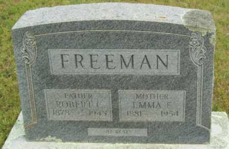 FREEMAN, EMMA F. - Logan County, Arkansas | EMMA F. FREEMAN - Arkansas Gravestone Photos