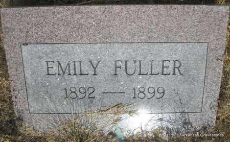FULLER, EMILY - Logan County, Arkansas | EMILY FULLER - Arkansas Gravestone Photos