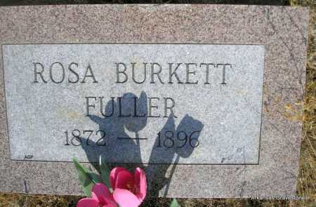 BURKETT FULLER, ROSA - Logan County, Arkansas | ROSA BURKETT FULLER - Arkansas Gravestone Photos