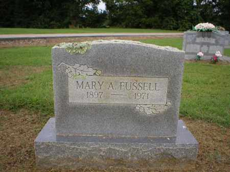 FUSSELL, MARY - Logan County, Arkansas | MARY FUSSELL - Arkansas Gravestone Photos