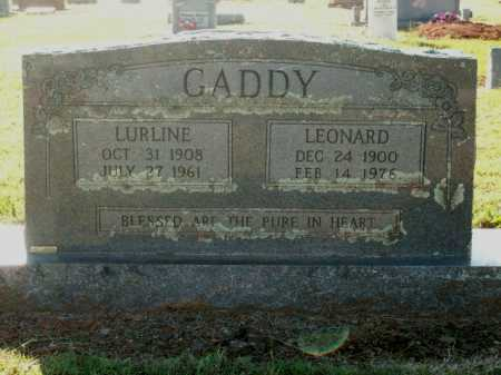 GADDY, LURLINE - Logan County, Arkansas | LURLINE GADDY - Arkansas Gravestone Photos