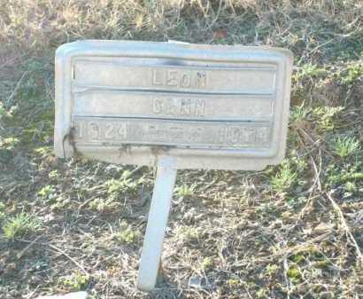 GANN, LEON - Logan County, Arkansas | LEON GANN - Arkansas Gravestone Photos