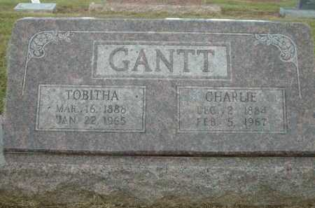 GANTT, TOBITHA - Logan County, Arkansas | TOBITHA GANTT - Arkansas Gravestone Photos