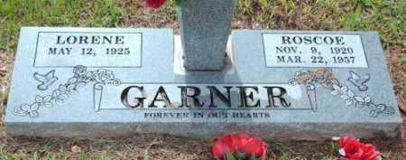 GARNER, ROSCOE - Logan County, Arkansas | ROSCOE GARNER - Arkansas Gravestone Photos